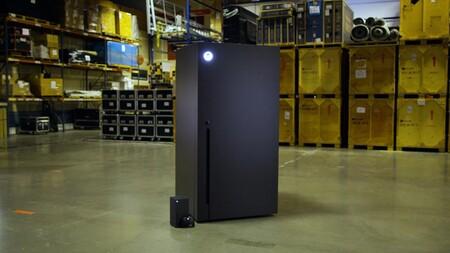 Microsoft producirá mini frigoríficos con la forma de Xbox Series X y el porqué es toda una genialidad
