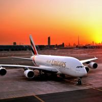 En este Airbus A380 caben 615 pasajeros, Emirates se cargó la primera clase