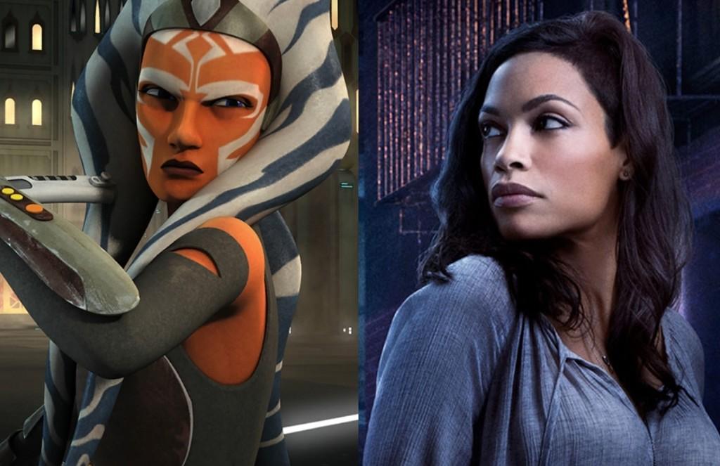 'The Mandalorian': Rosario Dawson ist gewählt, um die rolle von Ahsoka Tano in der staffel 2 der serie 'Star Wars'