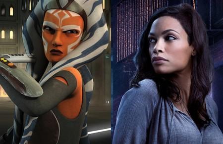 'The Mandalorian': Rosario Dawson es elegida para encarnar a Ahsoka Tano en la temporada 2 de la serie de 'Star Wars'