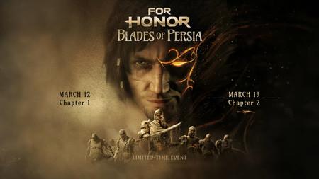La saga Prince of Persia regresa en forma de evento crossover para For Honor