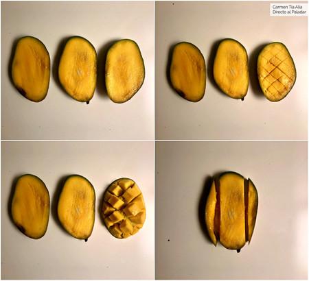 Pelar Y Cortar Mango 2