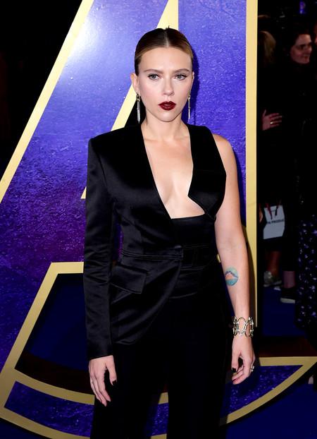 Scarlett Johansson Luce Escotazo En El Estreno De Los Vengadores Endgame 2