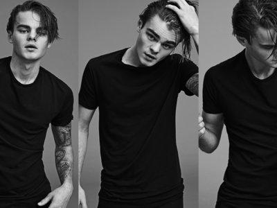 El doble de Leonardo DiCaprio posa como modelo para Ralph Lauren