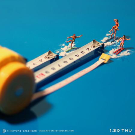 Miniature Calendar Tatsuya Tanaka 4