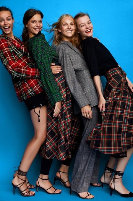 La nueva colección de Zara otoño 2018 te va a dejar a cuadros (de manera literal)