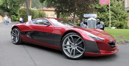El Rimac Concept One se deja ver en el Concorso d'Eleganza 2012