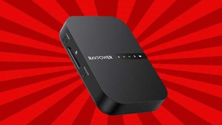 Este dispositivo RAVPOWER es ideal para trabajo en movilidad: router 4G, amplificador Wi-Fi y batería de oferta flash a 30 euros en Amazon