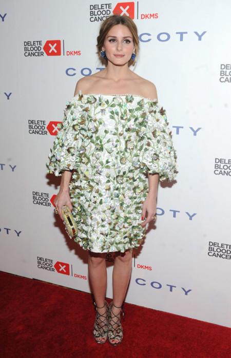 Olivia Palermo vestido Cancer Gala 2015