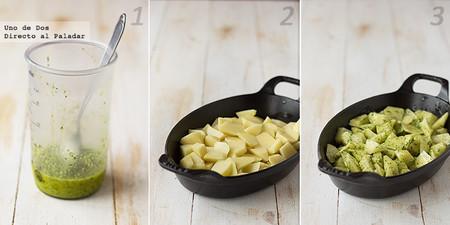 Receta de patatas adobadas al horno paso a paso