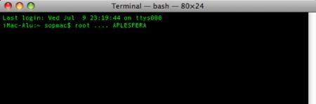 Accede a un Mac sin la contraseña de root