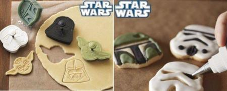Set de cortadores de galletas de Star Wars