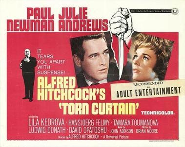 Alfred Hitchcock y Paul Newman: 'Cortina rasgada'