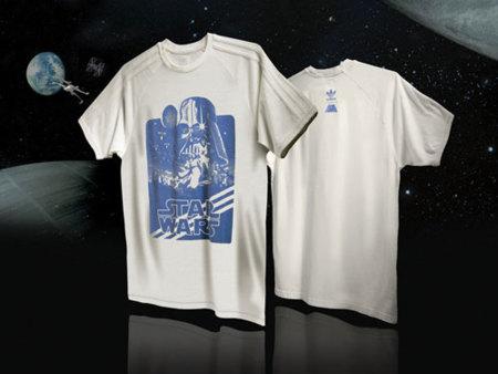 Adidas Star Wars camiseta blanca