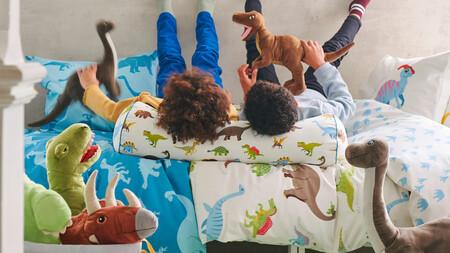 ¿Tu peque está en la 'fase dinosaurios'? La nueva colección de IKEA te ayuda a transformar su dormitorio en un mundo jurásico