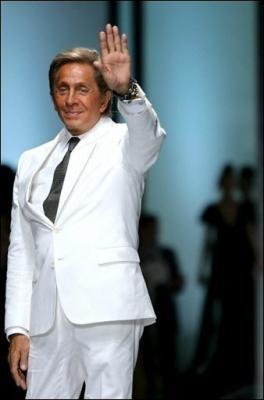 Valentino recibirá la Gran Medalla de París