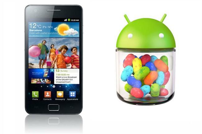 Samsung Galaxy SII Jelly Bean