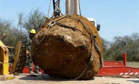 Se encuentra en Argentina el segundo meteorito más grande del mundo: 30 toneladas