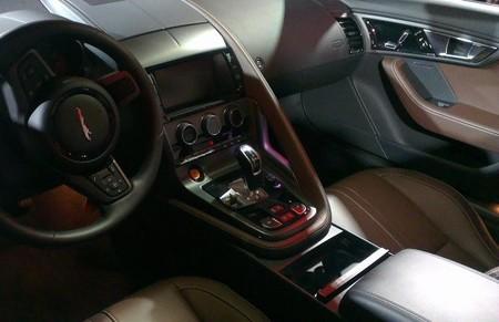 Interior nuevo Jaguar F-TYPE