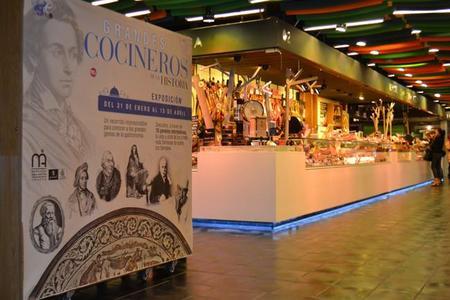 Los grandes cocineros de la Historia están en el Mercado de San Antón
