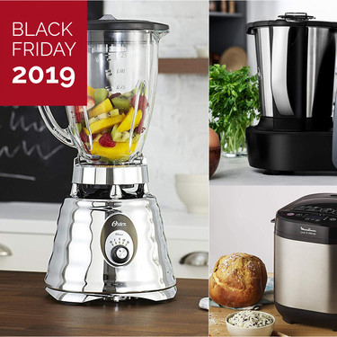 Black Friday 2019 en Amazon: mejores ofertas en robots de cocina y pequeños electrodomésticos