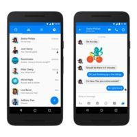 Facebook Messenger se actualiza en Android con Material Design