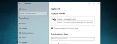 Fuentes en Windows 10: cómo instalarlas y gestionarlas