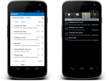 Outlook Com On Android