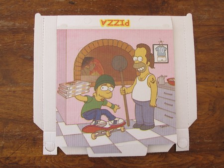 Caja Simpsons Pizza
