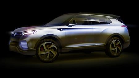 SsangYong XLV, un prototipo híbrido Diesel para Ginebra