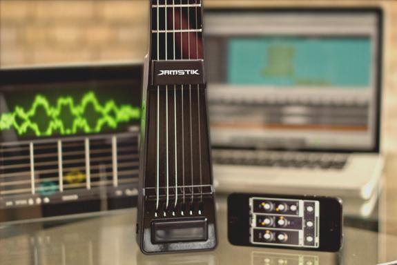 JamStik, una nueva forma de aprender a tocar la guitarra en cualquier sitio