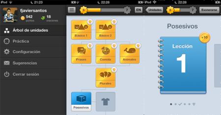 Duolingo llega como aplicación a iOS. Primeras impresiones