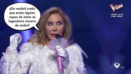 Norma Duval responde a la principal duda sobre 'Mask Singer': ¿están los famosos realmente todo el tiempo bajo las máscaras?