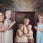 Tres niñas que han sobrevivido al cáncer recrean una foto viral dos años después