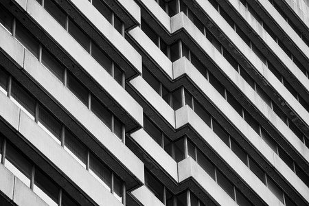 Brutalist Hi Rise Architecture Swatch Web
