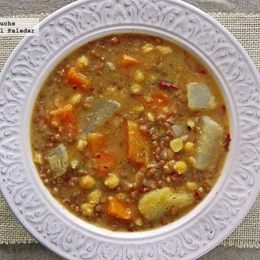 Olla de San Antonio o San Antón: receta de cuchara tradicional