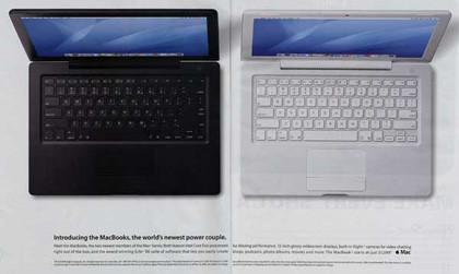 Nueva publicidad de los MacBooks en revistas