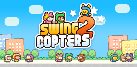 Swing Copters 2, lo nuevo del creador de Flappy Bird quiere seguir desquiciándote