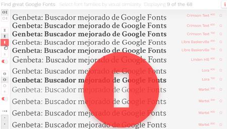 Con este buscador mejorado de Google Fonts es más fácil encontrar la tipografía perfecta