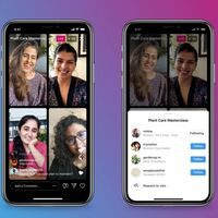 Los 'Live Rooms' de Instagram ya permiten participar hasta a cuatro personas al mismo tiempo en estas emisiones