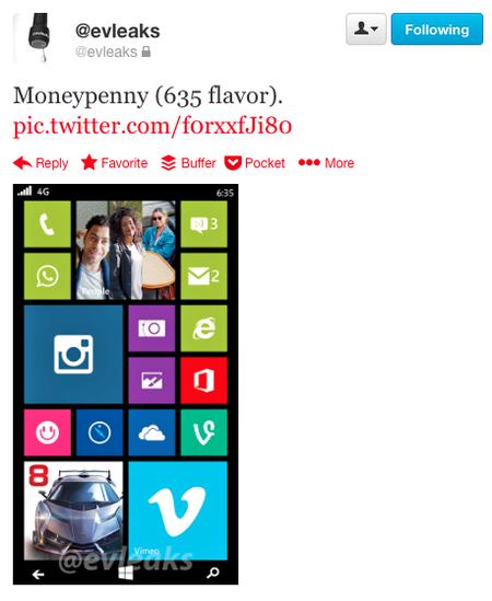 Lumia 635 Leak