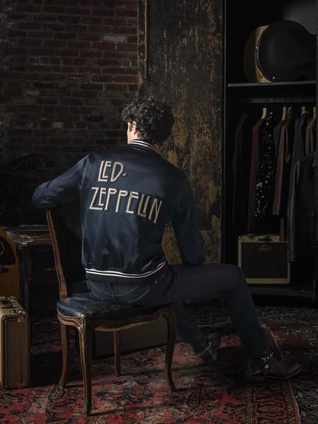 Y el rock se hizo moda con la nueva colección cápsula de John Varvatos inspirada en Led Zeppelin