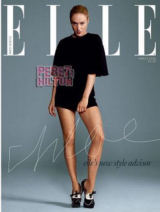 Chloë Sevigny estilista y portada de la revista Elle británica