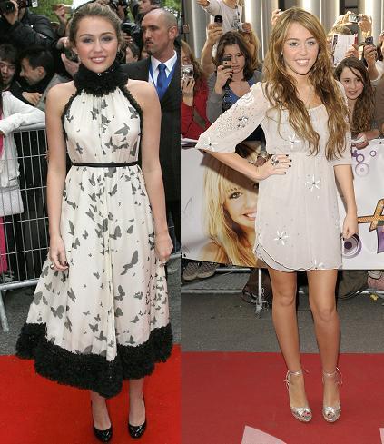 Una estilosa Miley Cyrus sigue de gira por Europa: todos sus looks