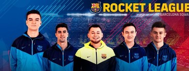 El FC Barcelona sigue sumando activos dentro de los esports y firma a un equipo de Rocket League