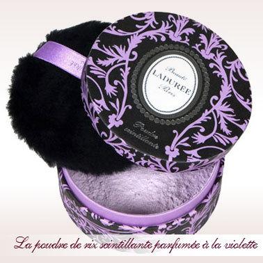 Poudre à la Violette LaDurée