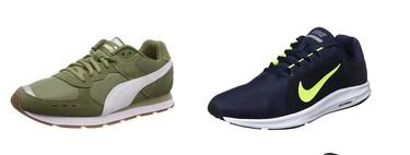 Chollos en tallas sueltas de zapatillas Nike, Puma o Under Armour en Amazon