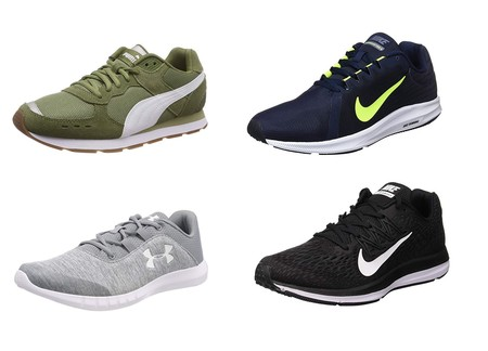 Chollos en tallas sueltas de zapatillas Nike, Puma o Under Armour en Amazon
