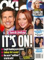 ¡El rumor loquísimo!: Tom Cruise y Lindsay Lohan juntos
