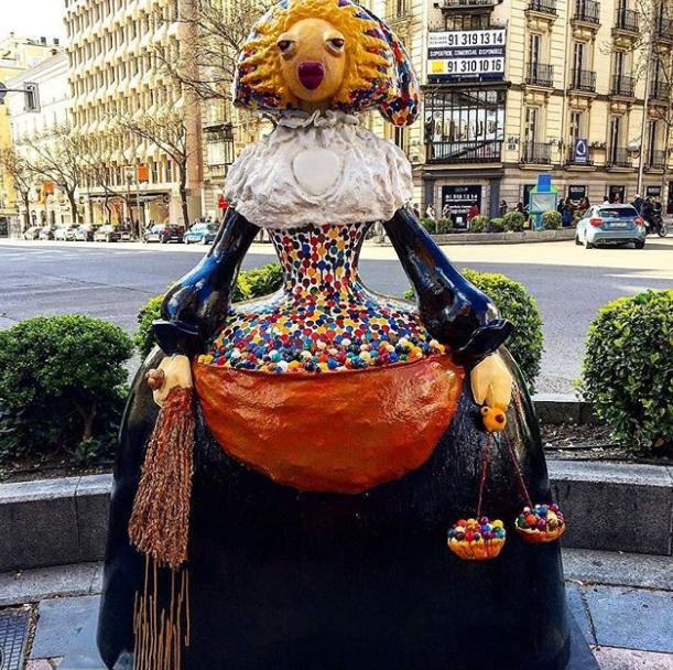 Exposición Meninas Madrid
